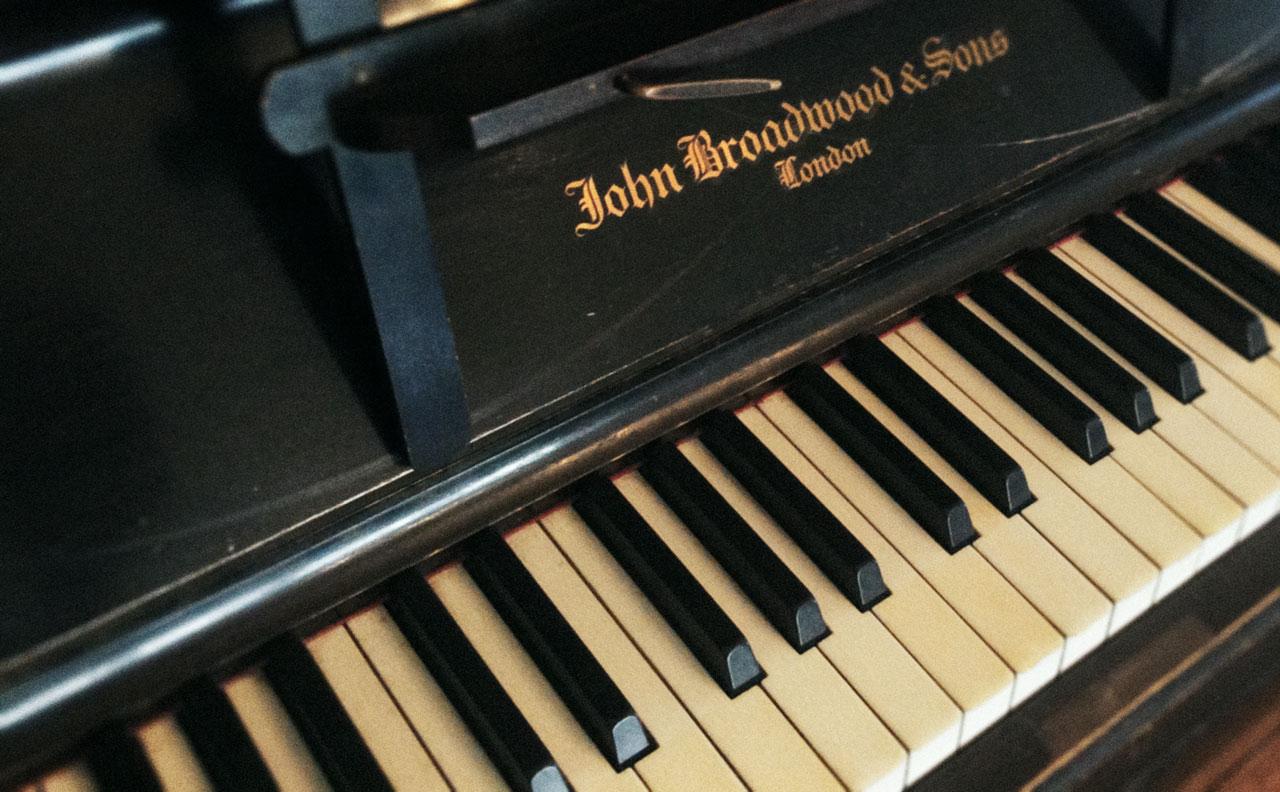 Piano close up